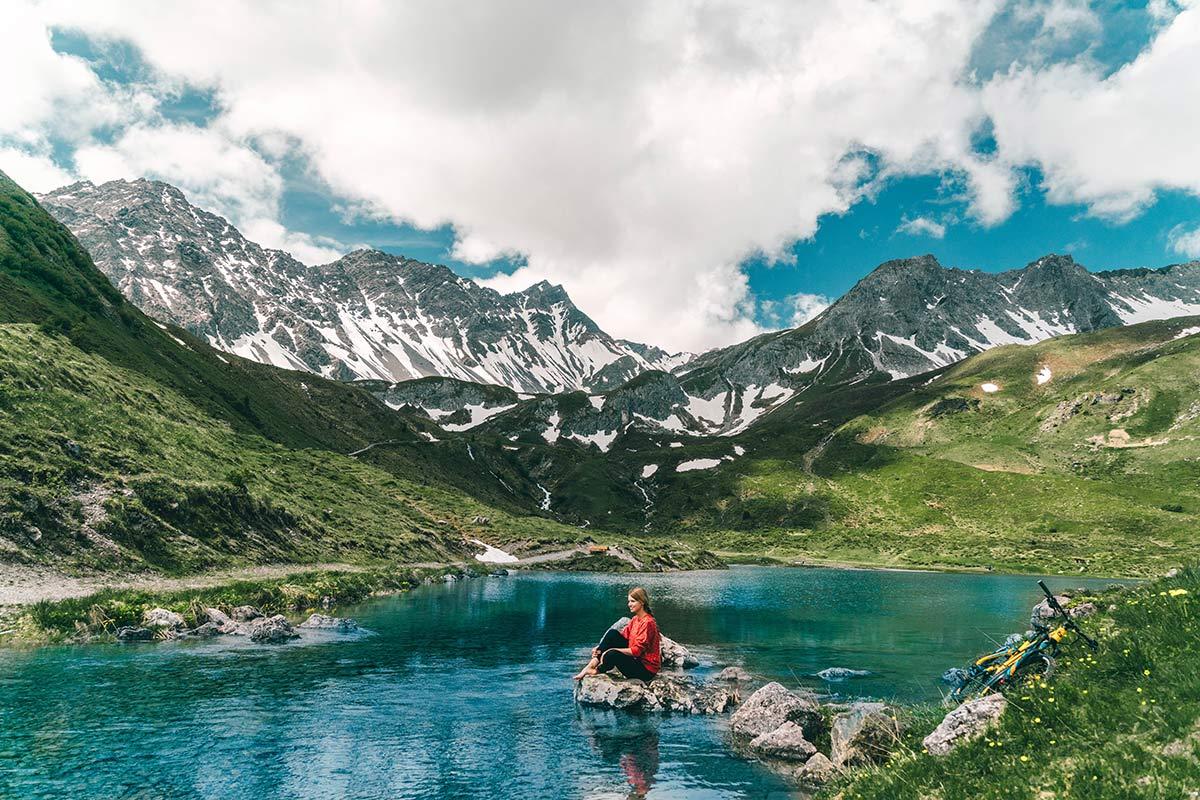 Bergsee Arosa