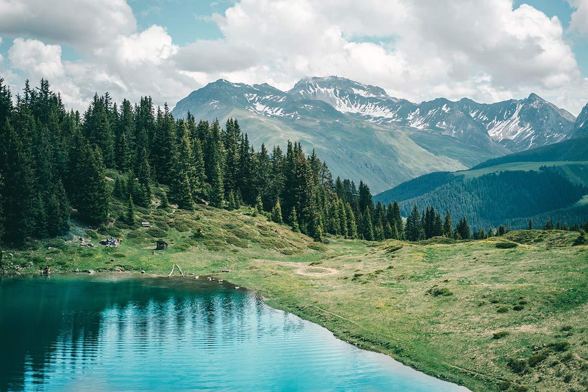 Bergsee Graubünden