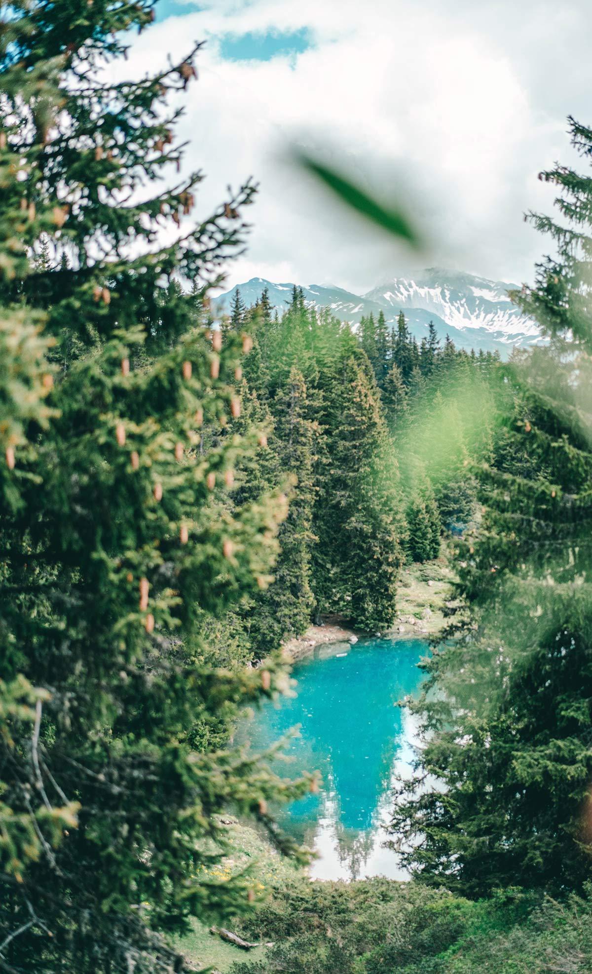 Bergsee Schweiz Arosa