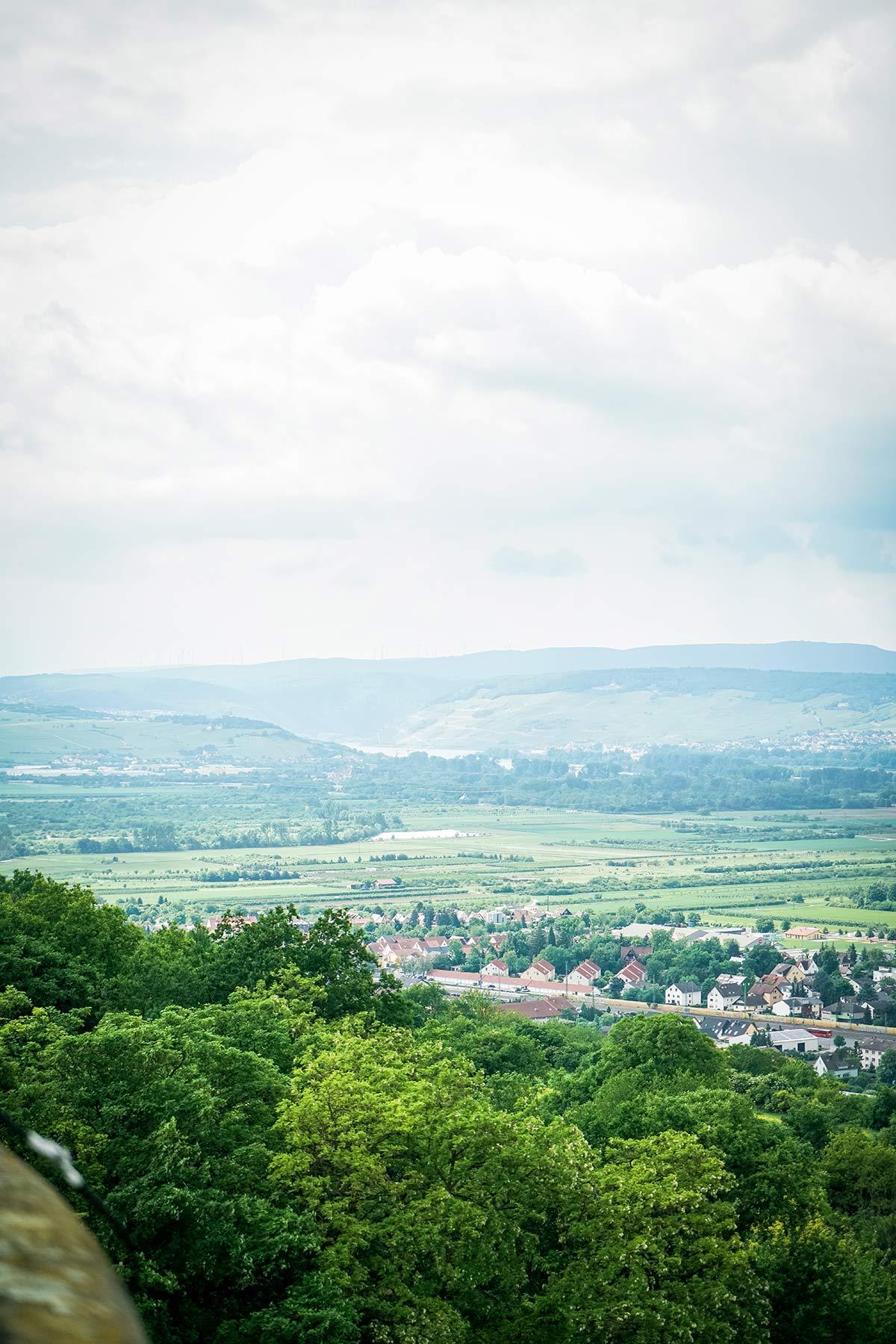 Blick auf Rheinhessen