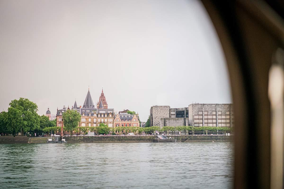 Bootsfahrt in Mainz