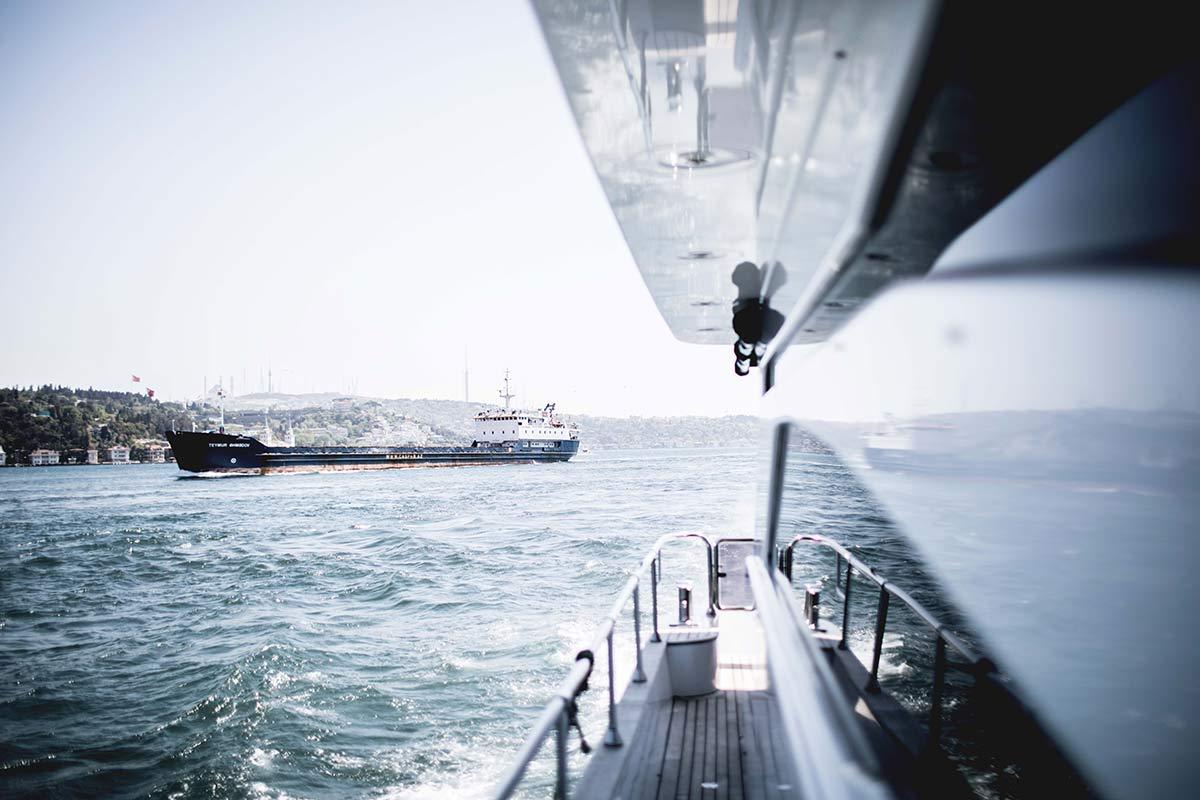 Bootstour mit Ausblick