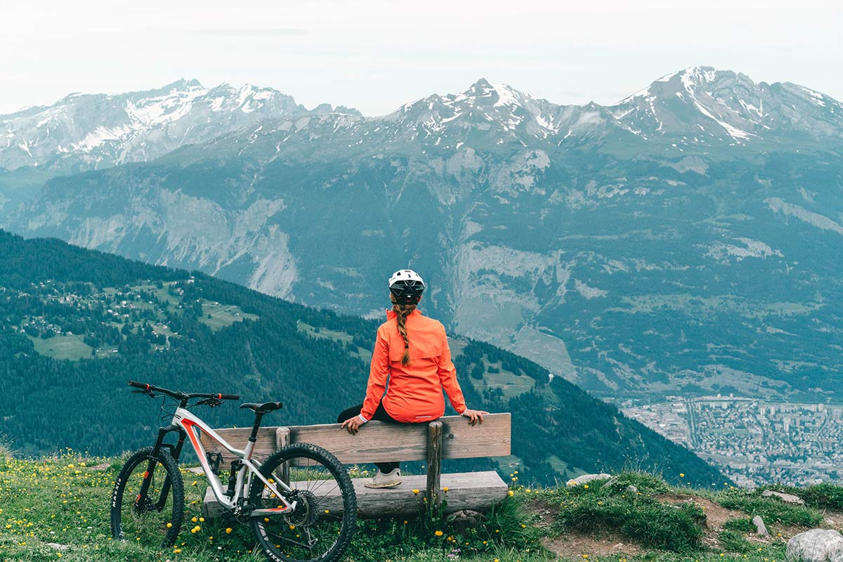 Christine Neder Epic and Bike