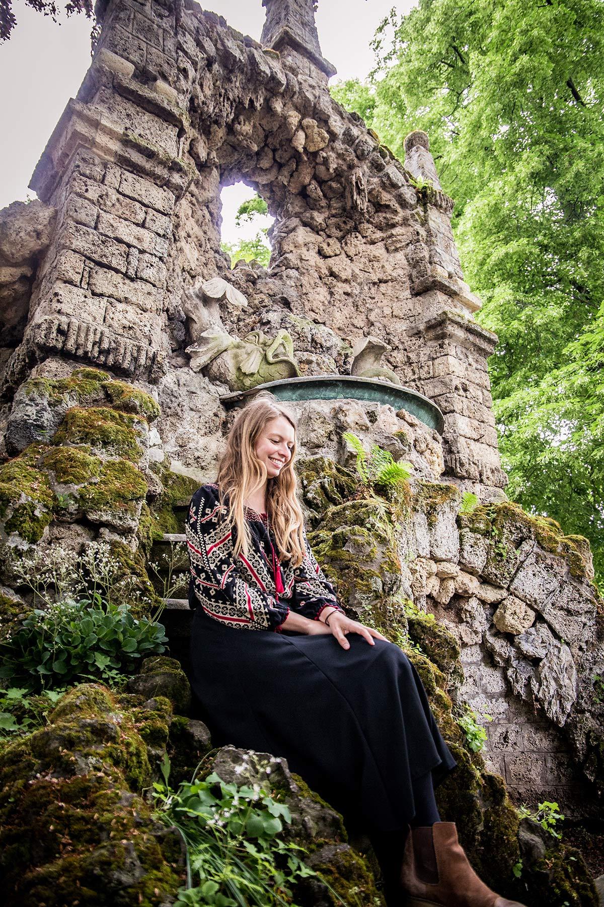 Christine Neder im Heylshofpark