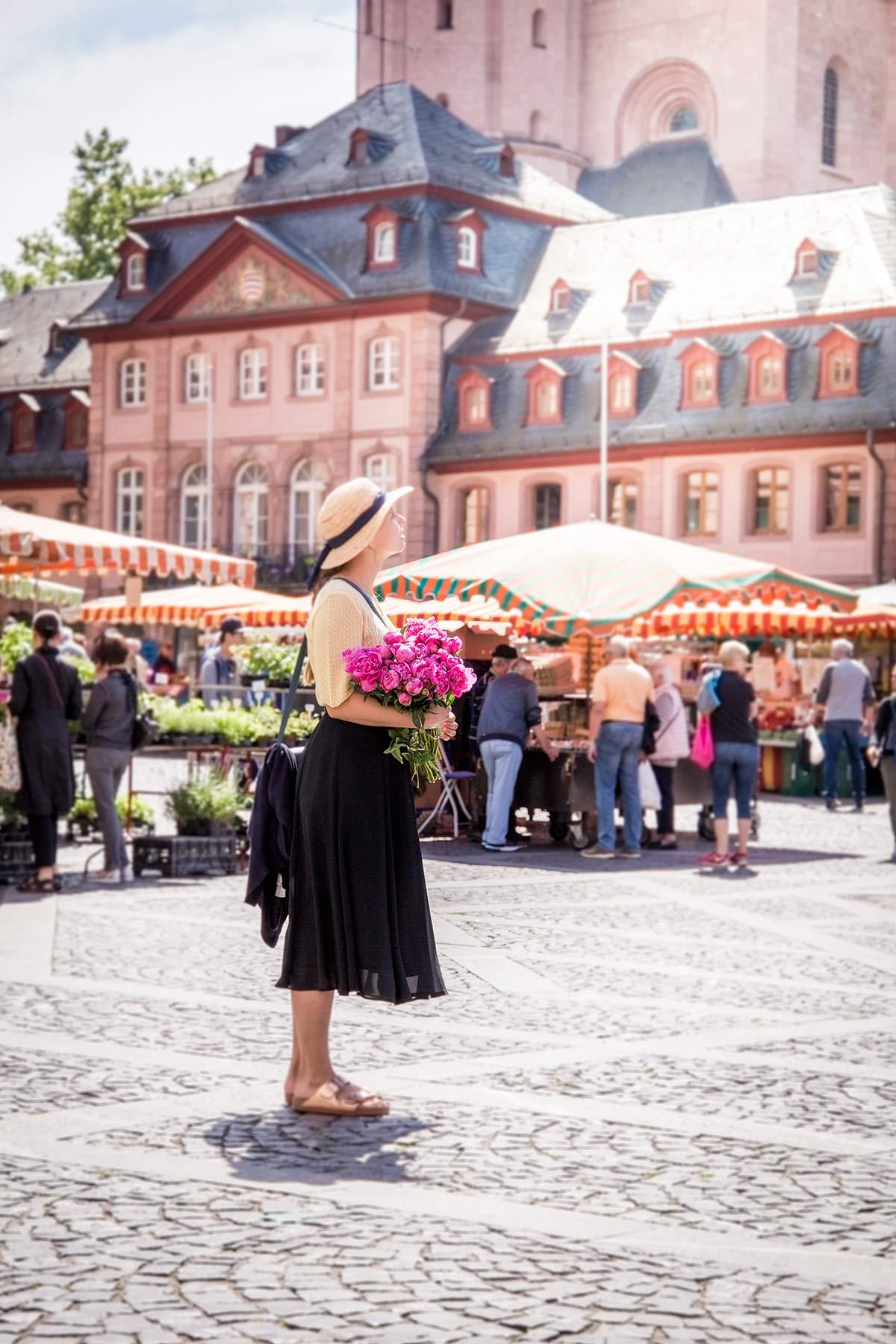 Christine Neder Marktplatz Mainz