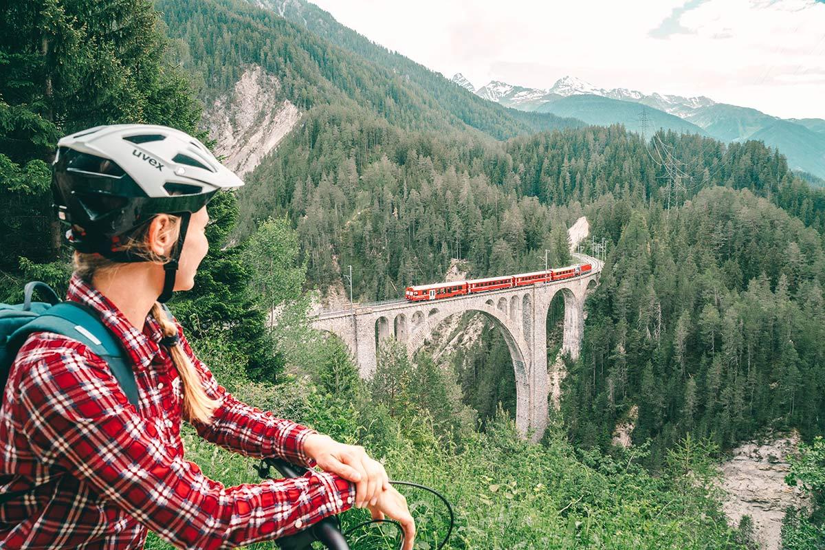 Christine Neder Viadukt Schweiz