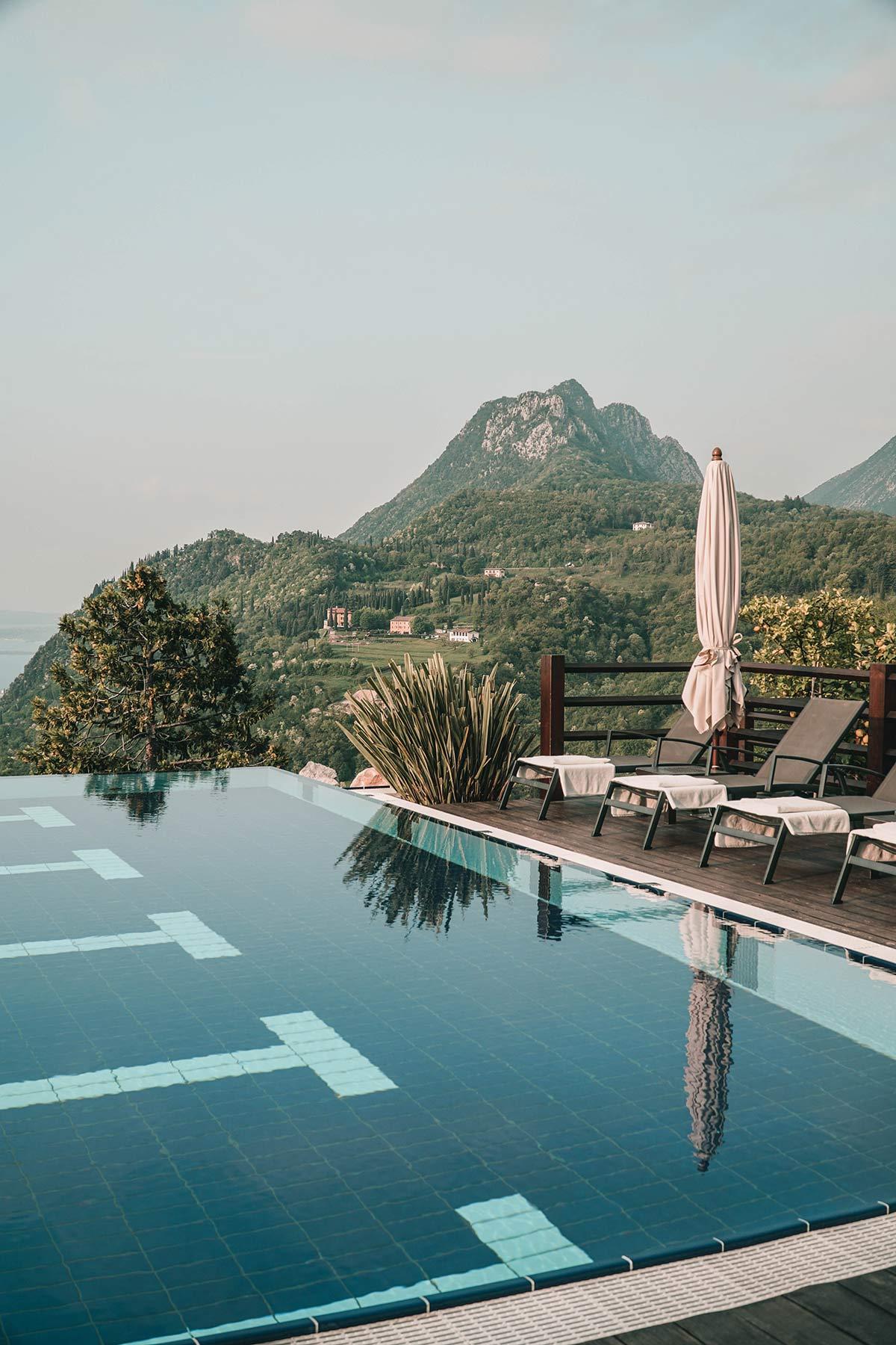 der schoenste Pool Gardasee