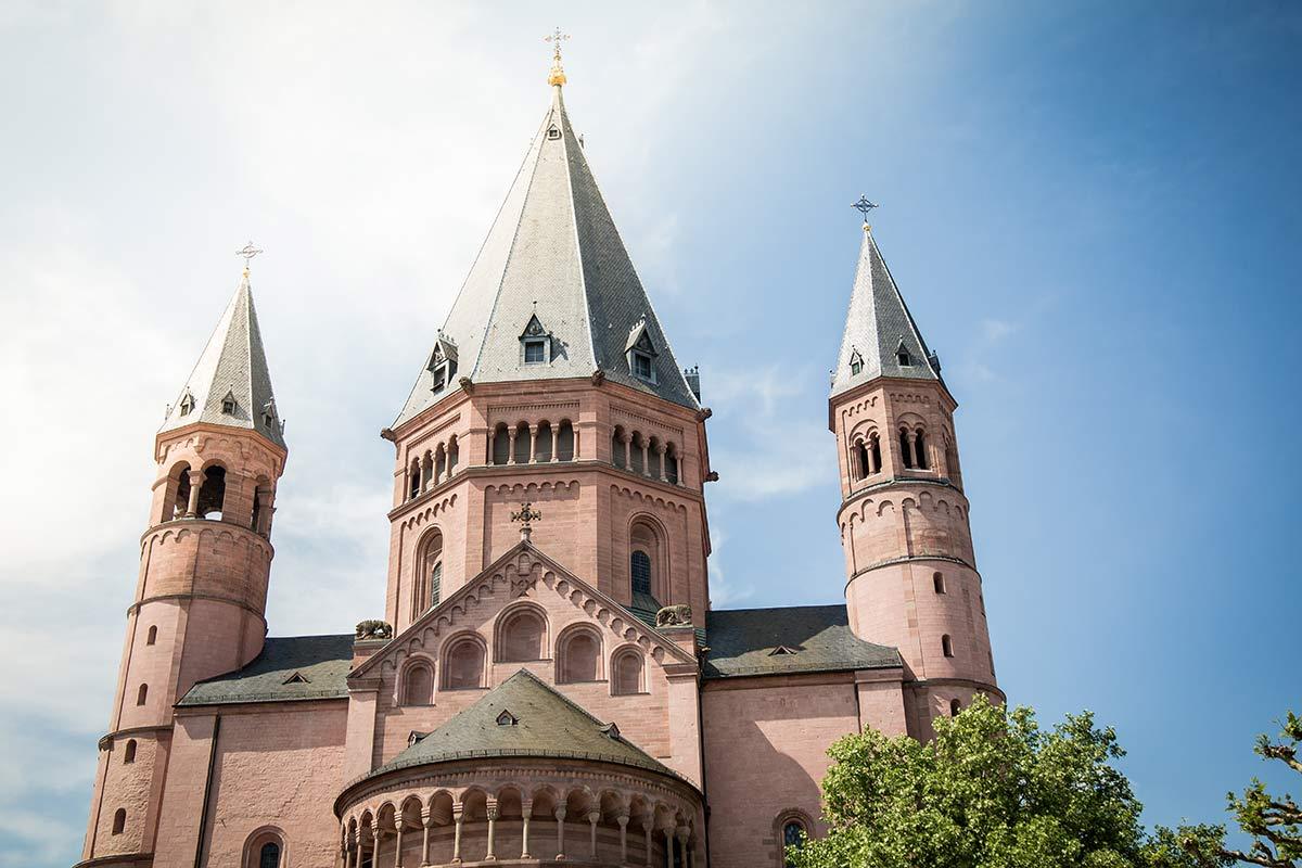 Dom Mainz aussen