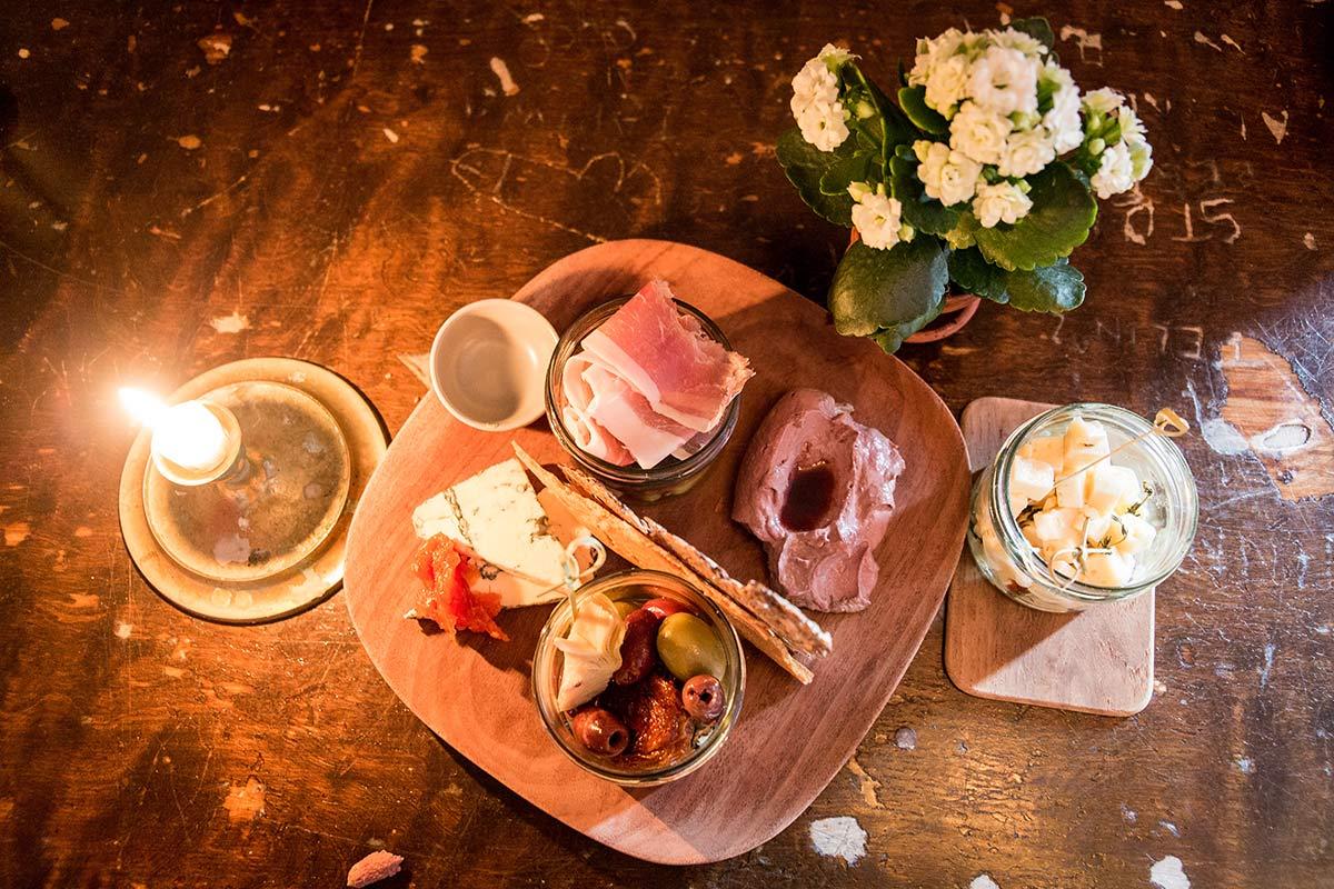 Essen im Kafe de Luxe Vaxjo