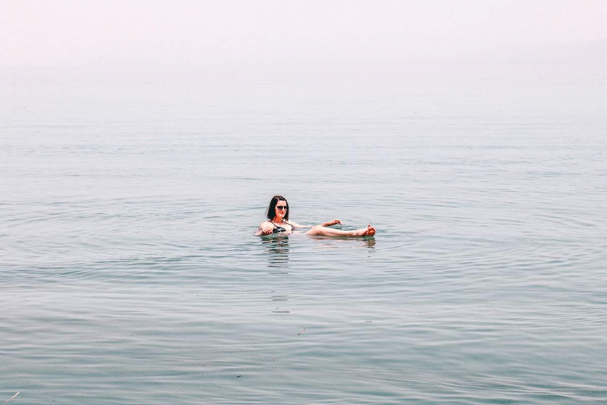 Floaten im Toten Meer