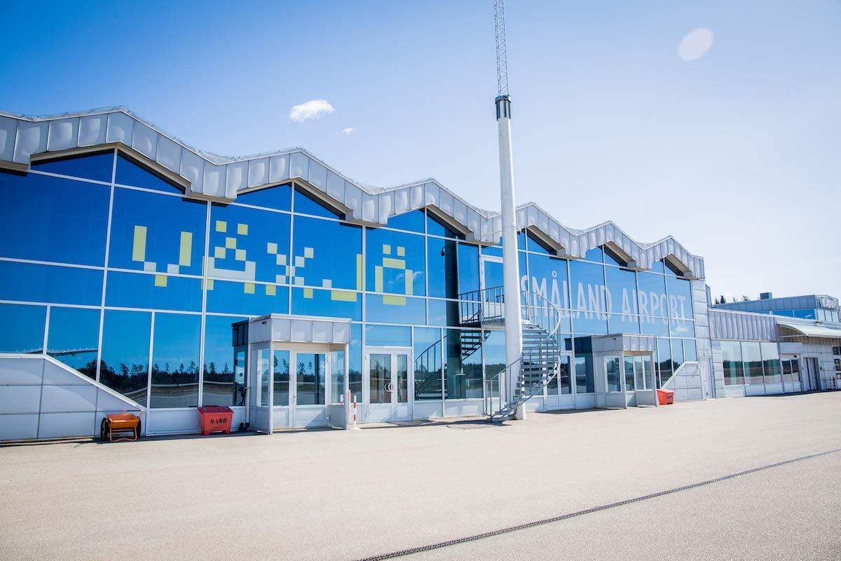 Flughafen Vaxjo Smaland