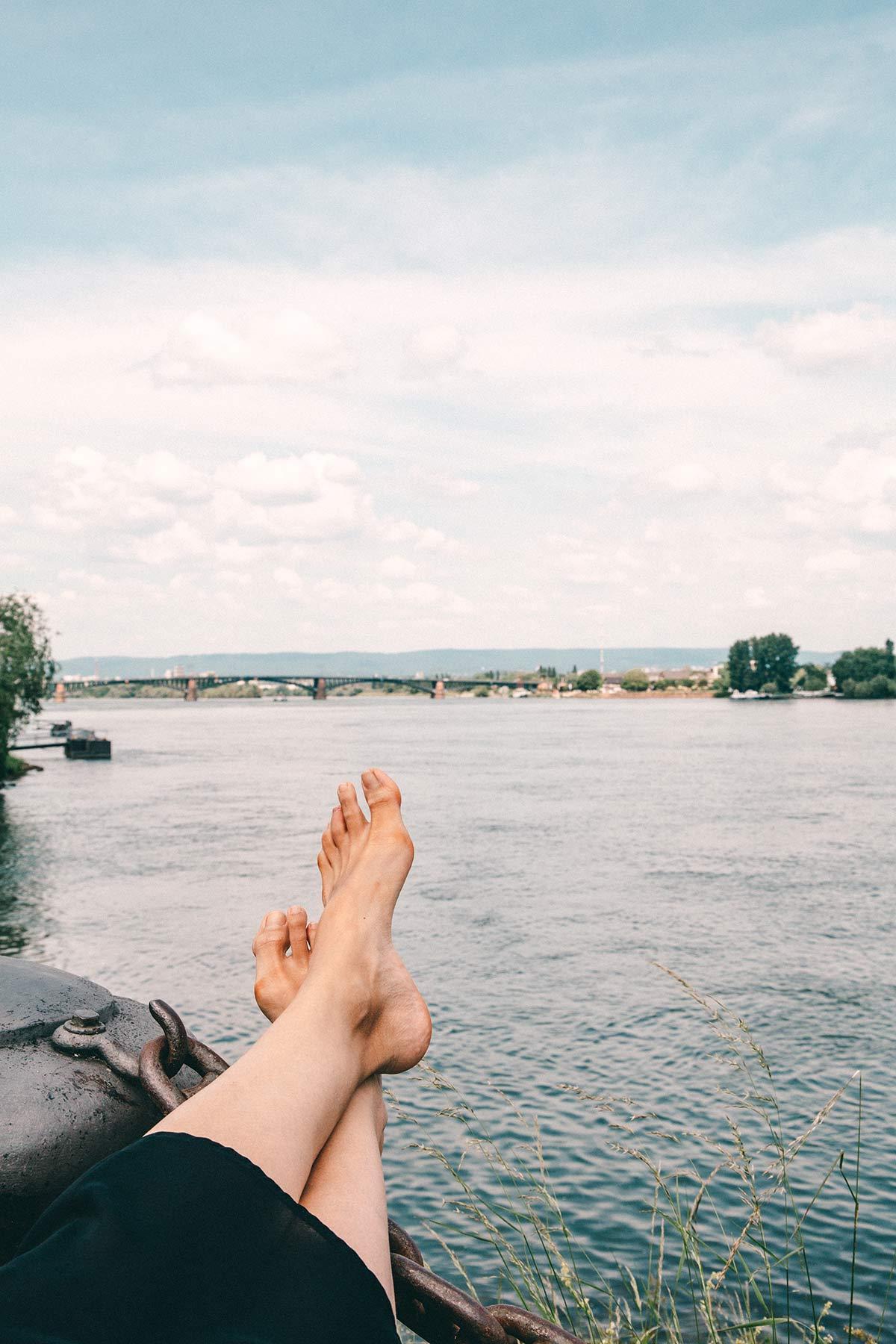 Fuesse Rhein Mainz