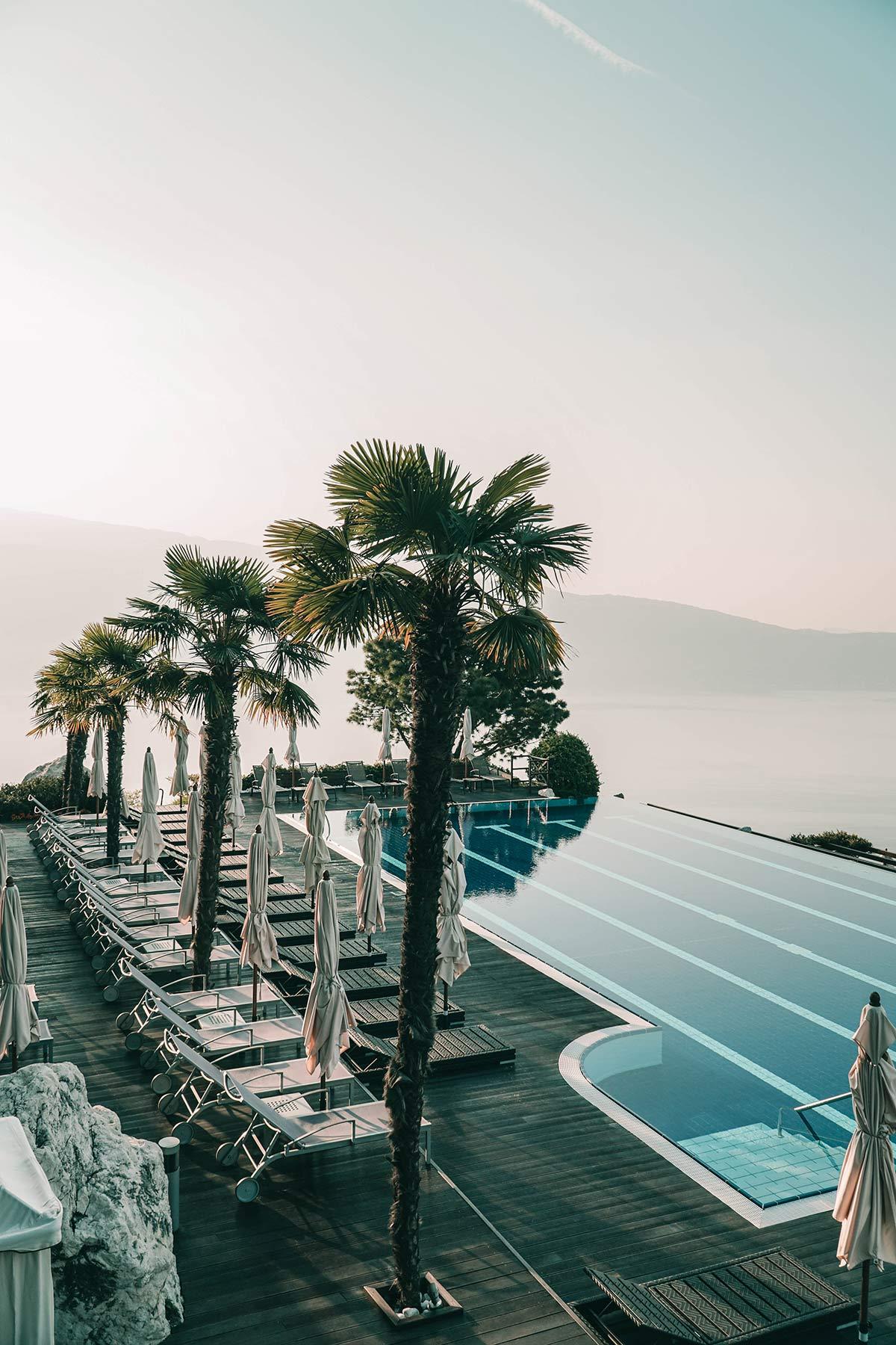 Gardasee Pool Landschaft