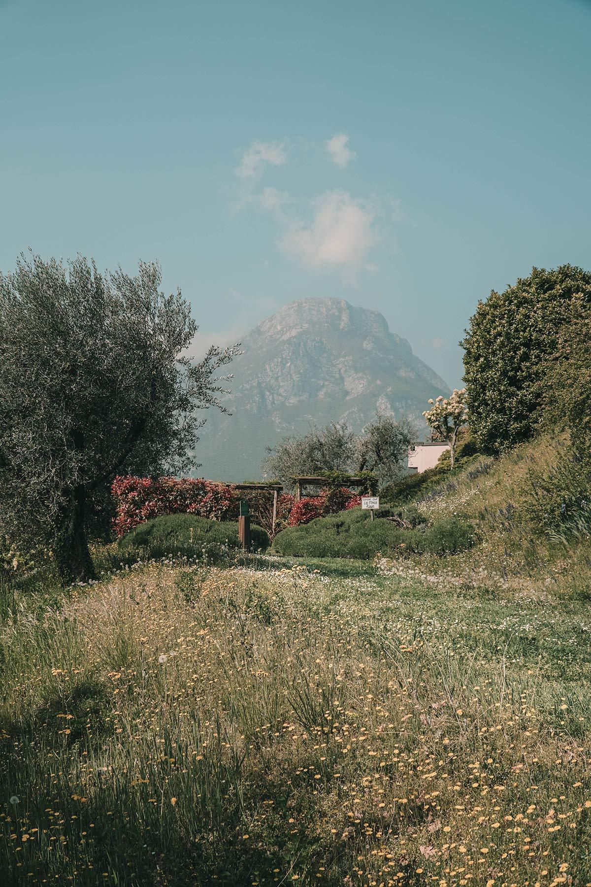Gartenidylle Gardasee Lefay