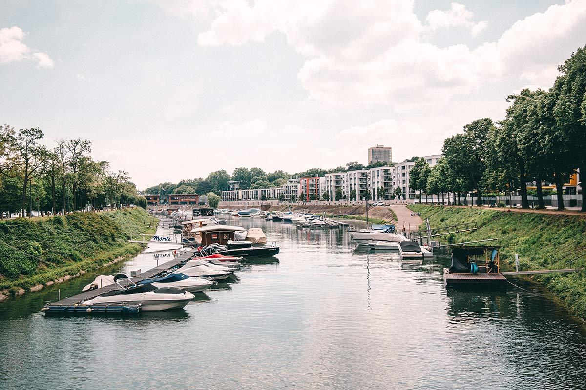 Hafen von Mainz