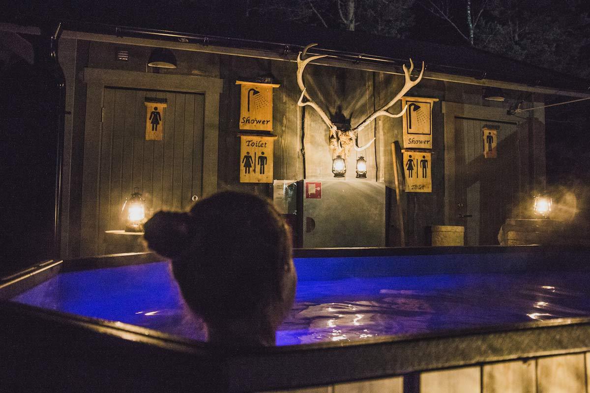 Hot Tub Little Rock Lake Zipline