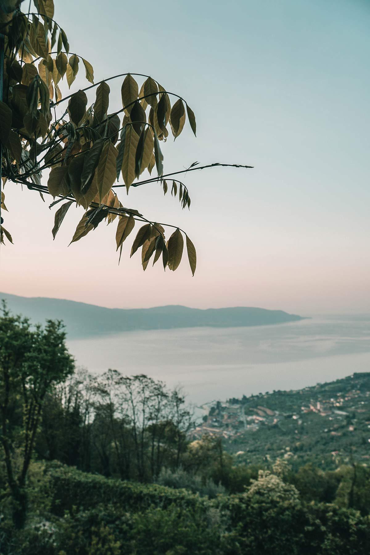 Landschaft Gardasee Lefay Resort