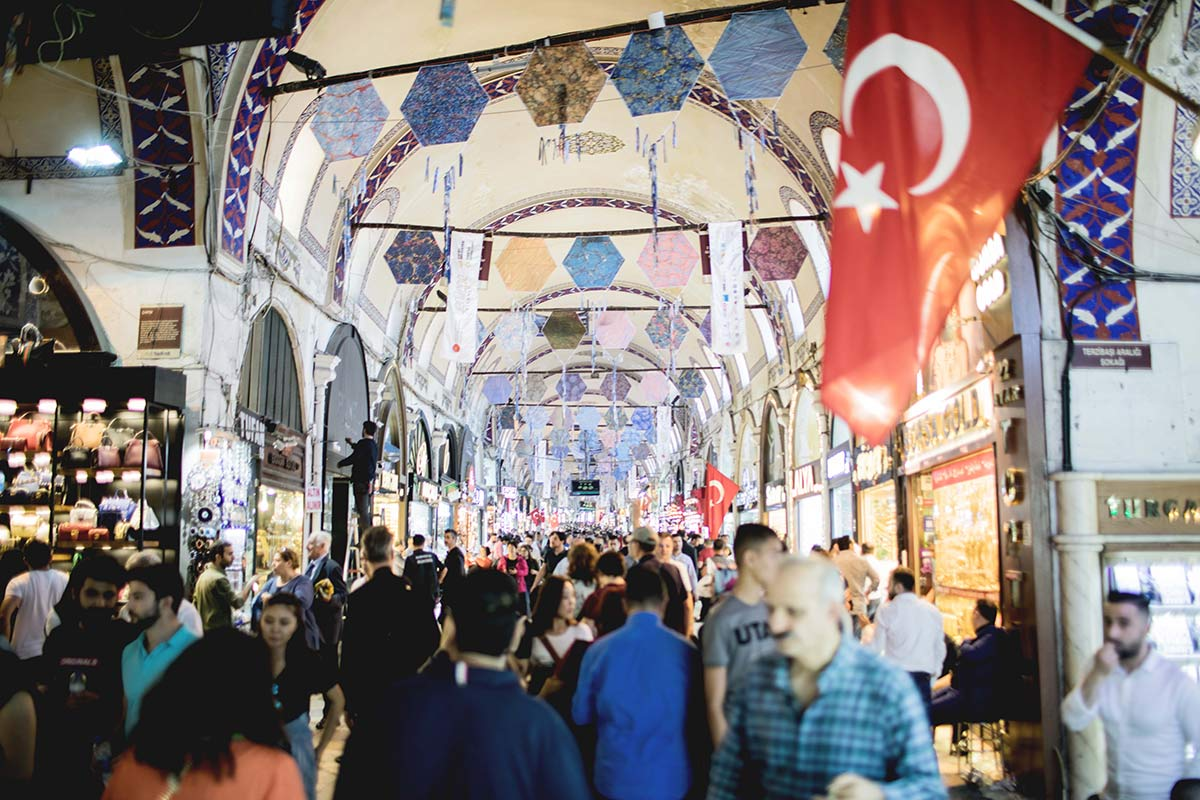 Markthalle in Istanbul