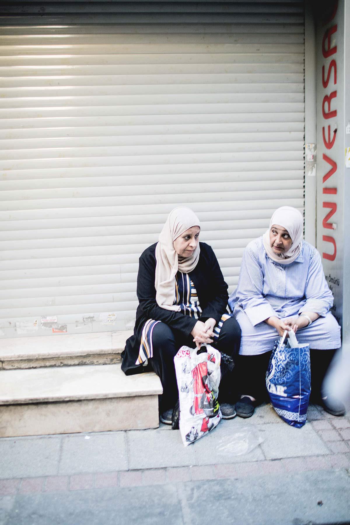 Menschen Istanbul