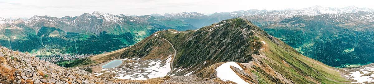 Panorama bergwelt