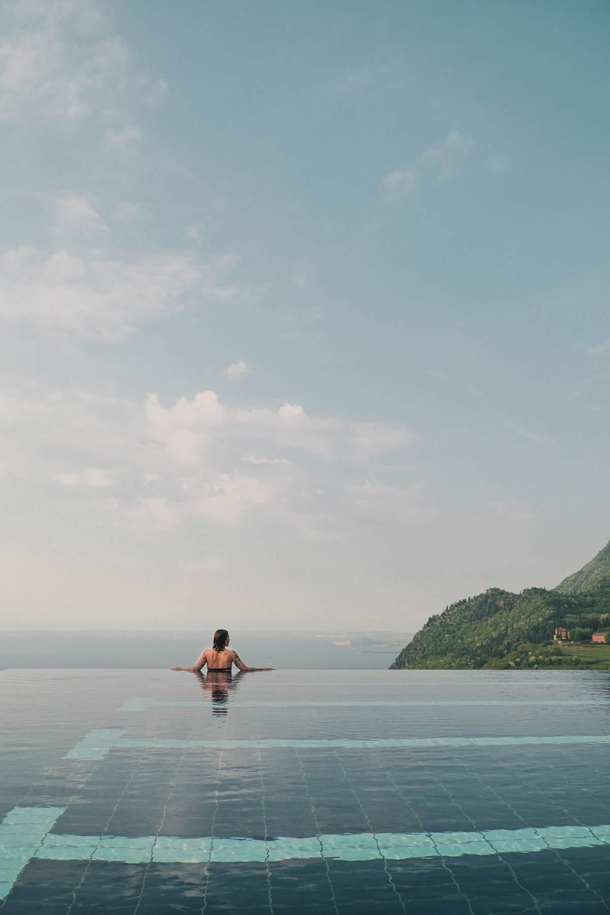 Pool Lefay Spa Hotel Gardasee