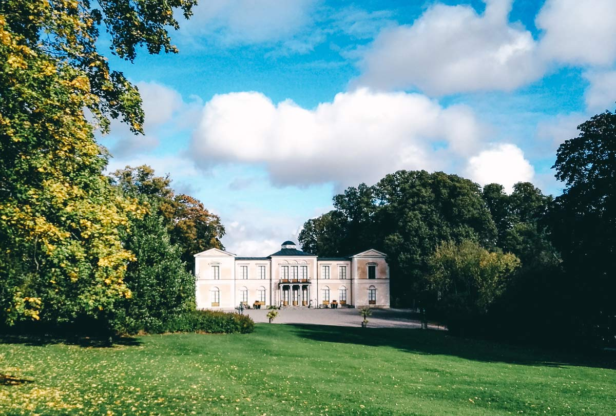Rosendals Slott in Stockholm