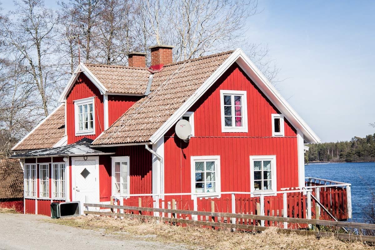Rotes Haus Smaland Schweden