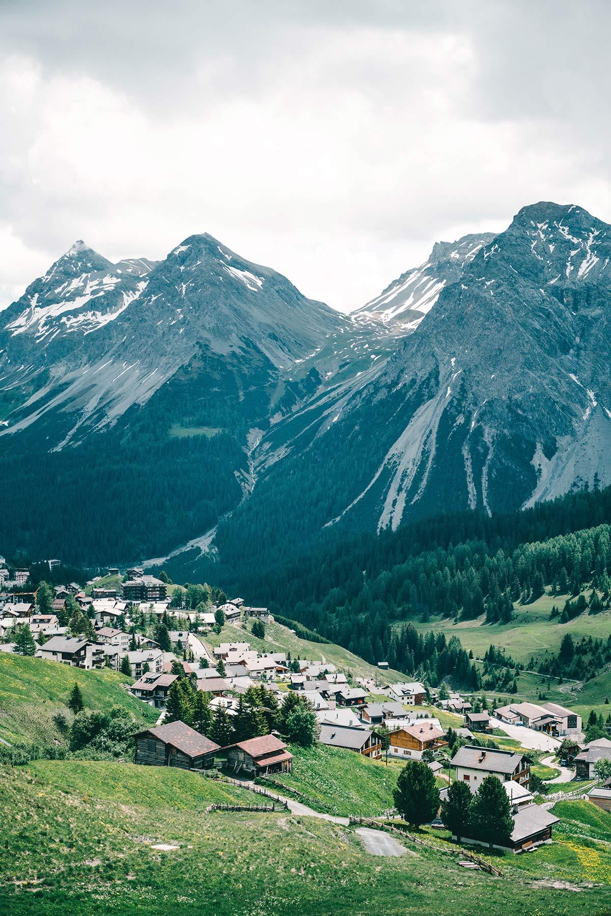 Schweiz Arosa