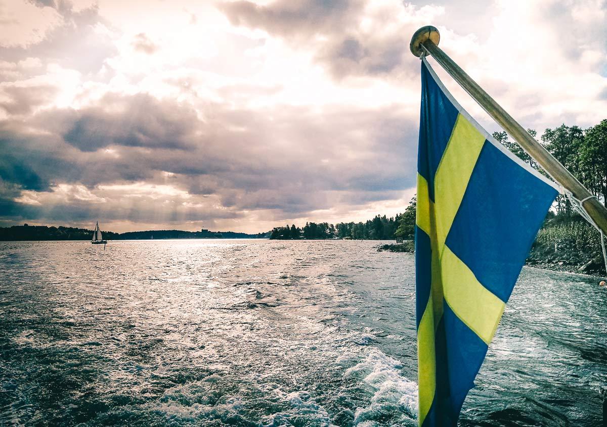 Stockholm Schifffahrt zur Schaereninsel