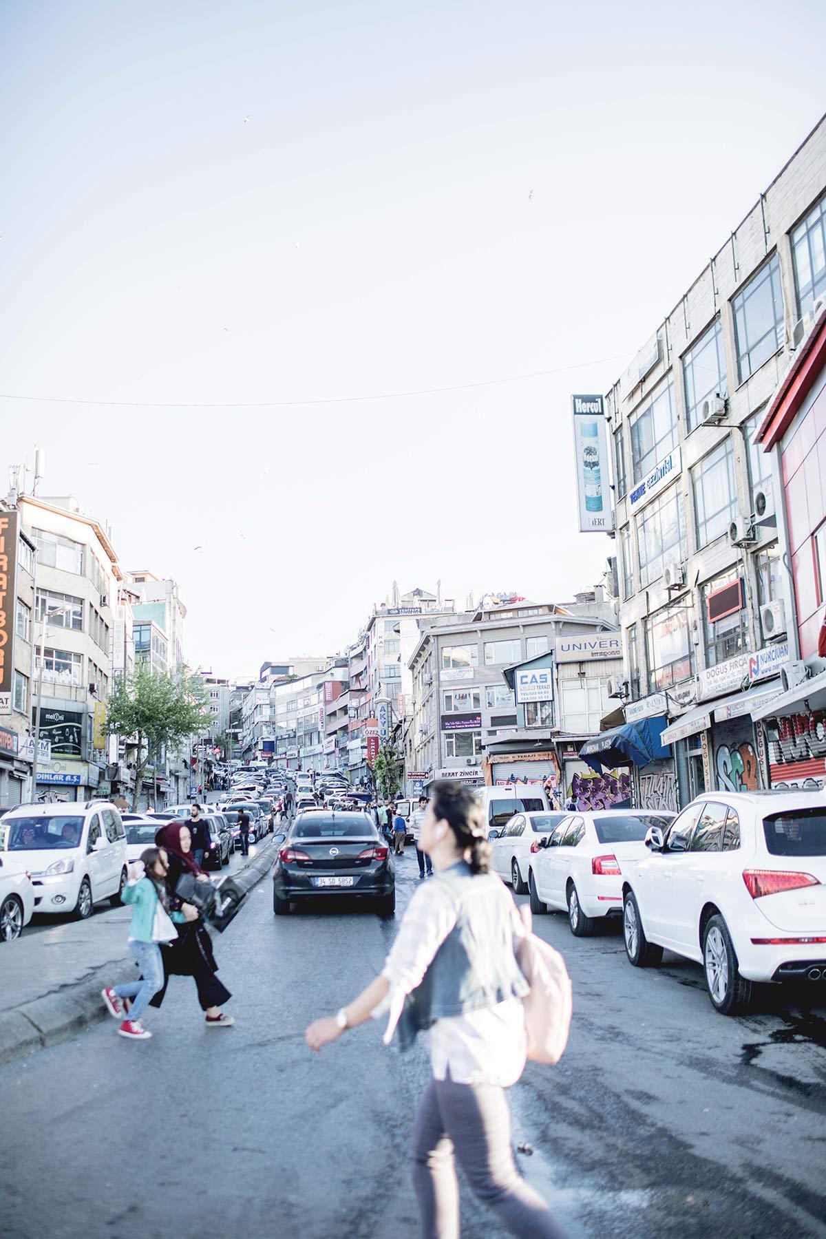 Strassen von Istanbul