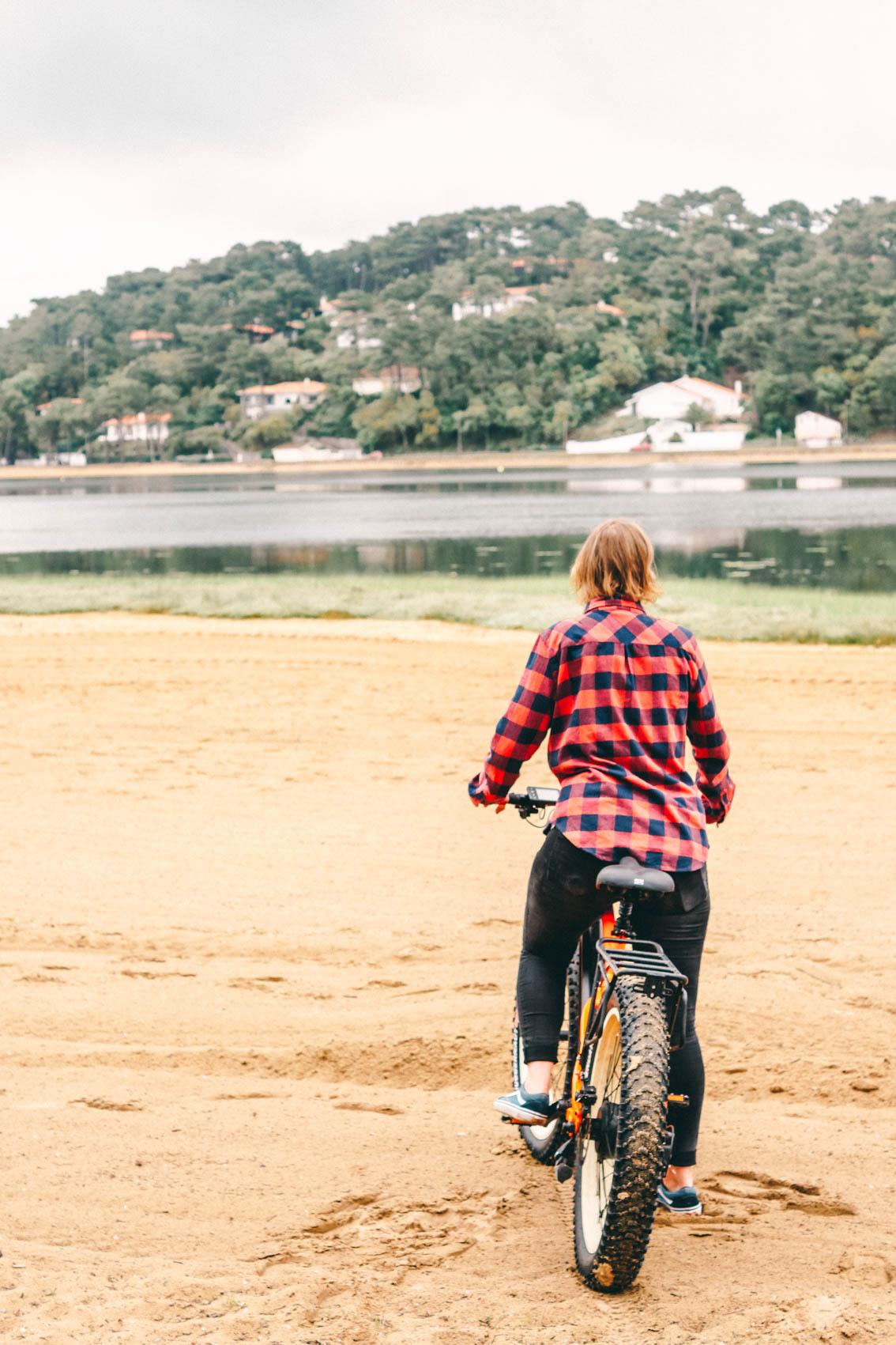 Hossegor Reisetipps Fatbike fahren