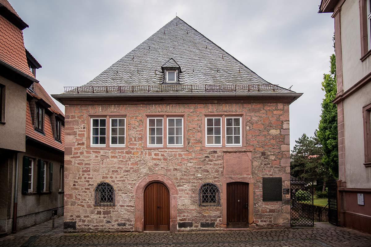 Synagoge Worms aussen