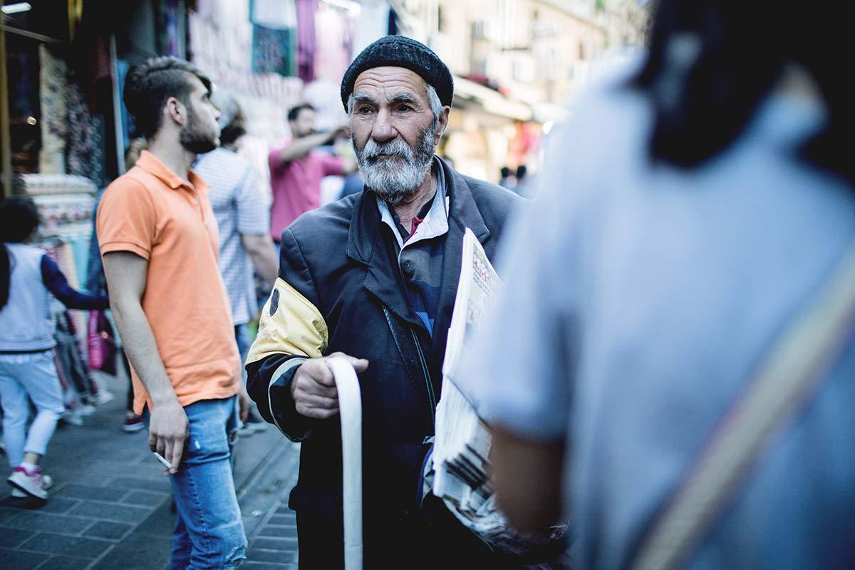 Tuerke in Istanbul