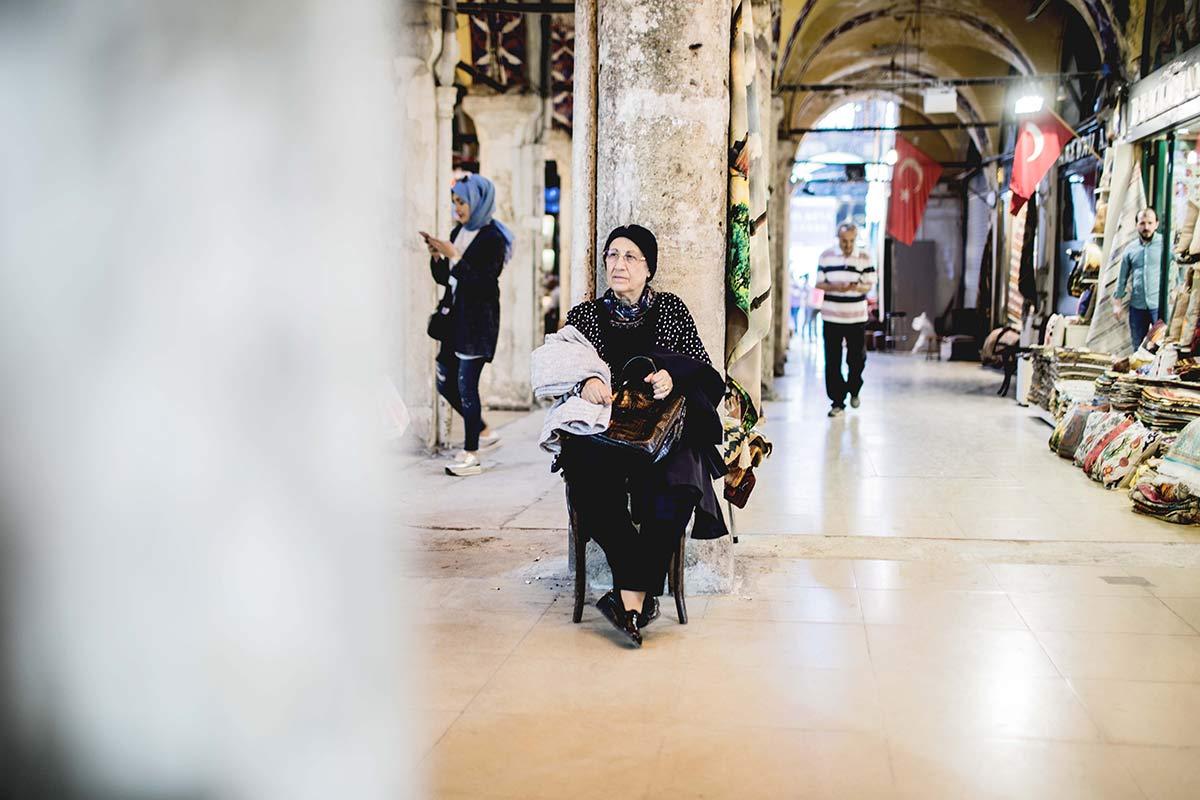 Tuerkin in Istanbul