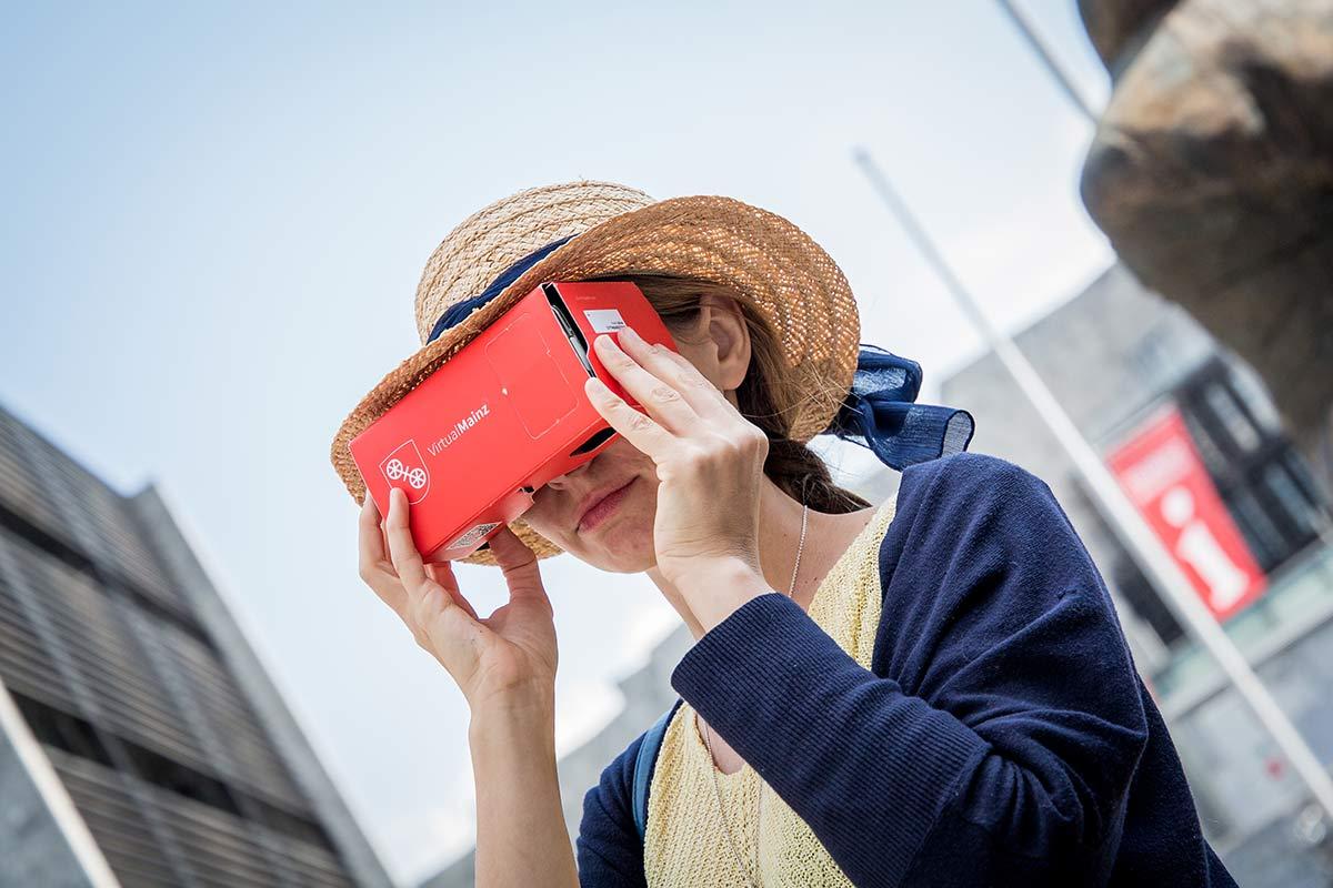 VR Brille Mainz