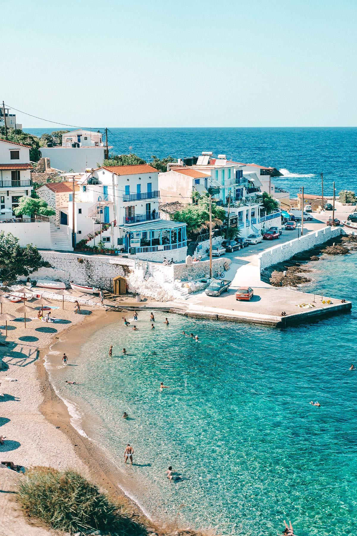 griechische Insel Ikaria Armenistis Dorf