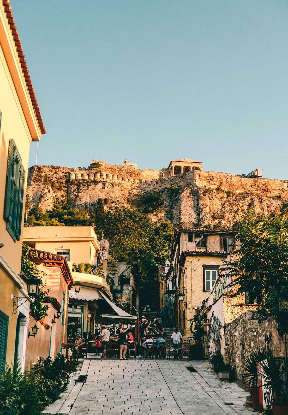 Athen Altstadt