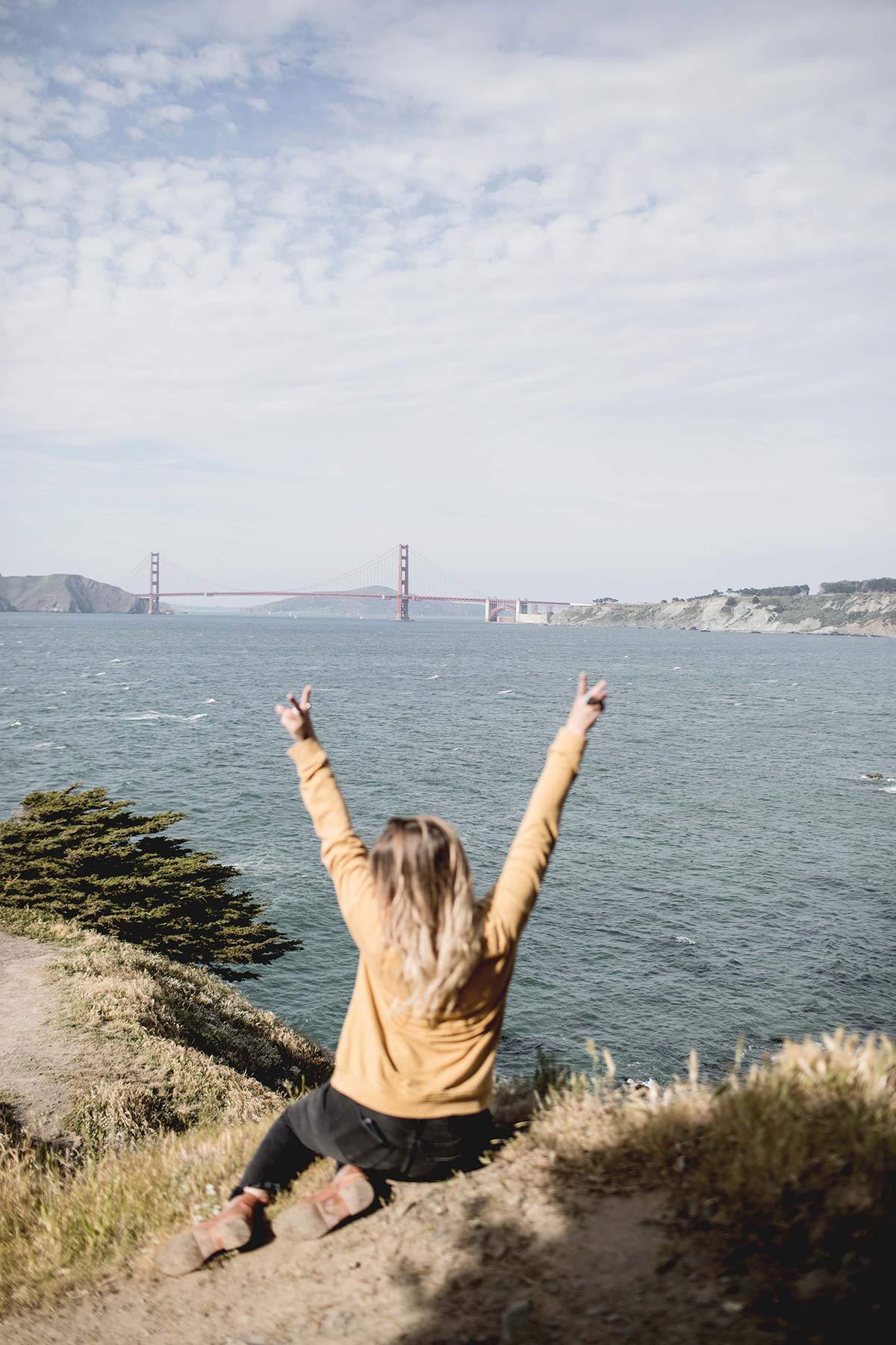 Aussichtspunkt zur Golden Gate Bride