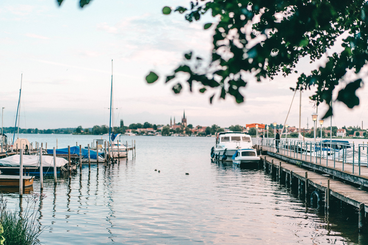 Hafen Hausboot in Brandenburg