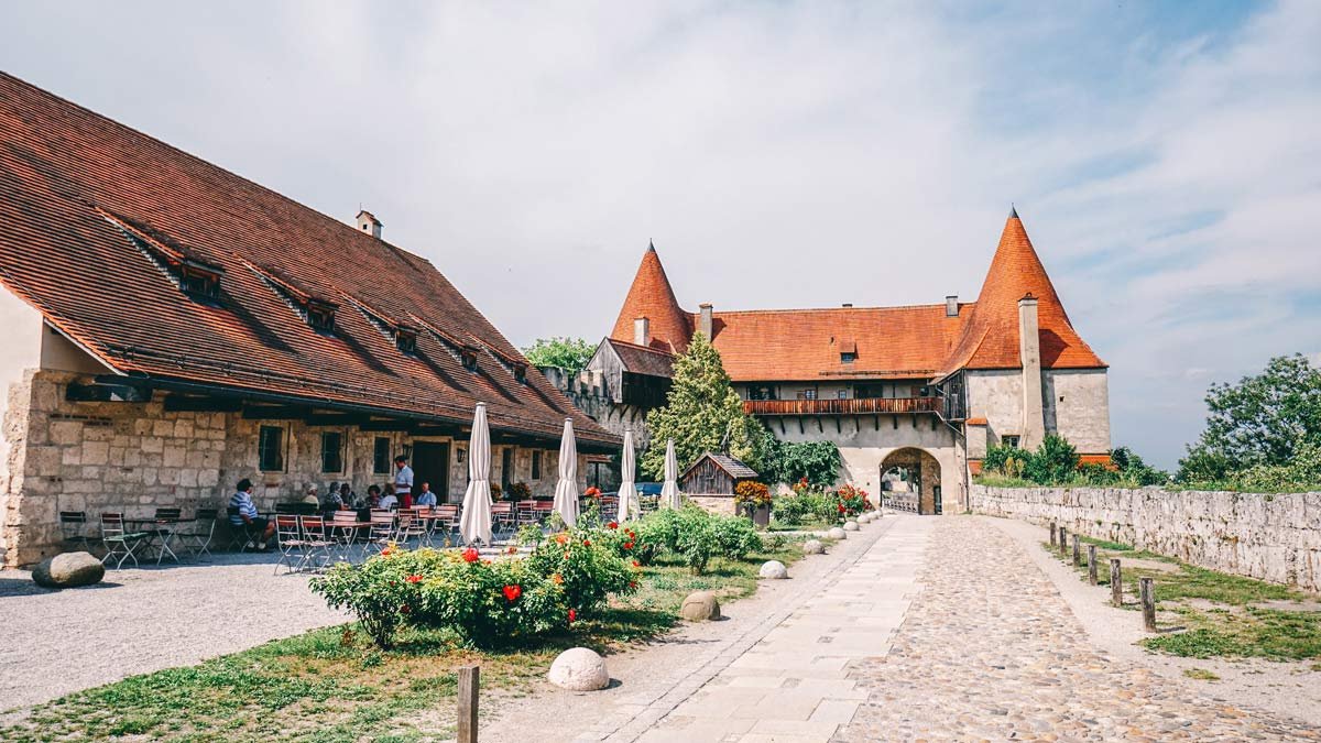 Burghausen Burg Hof