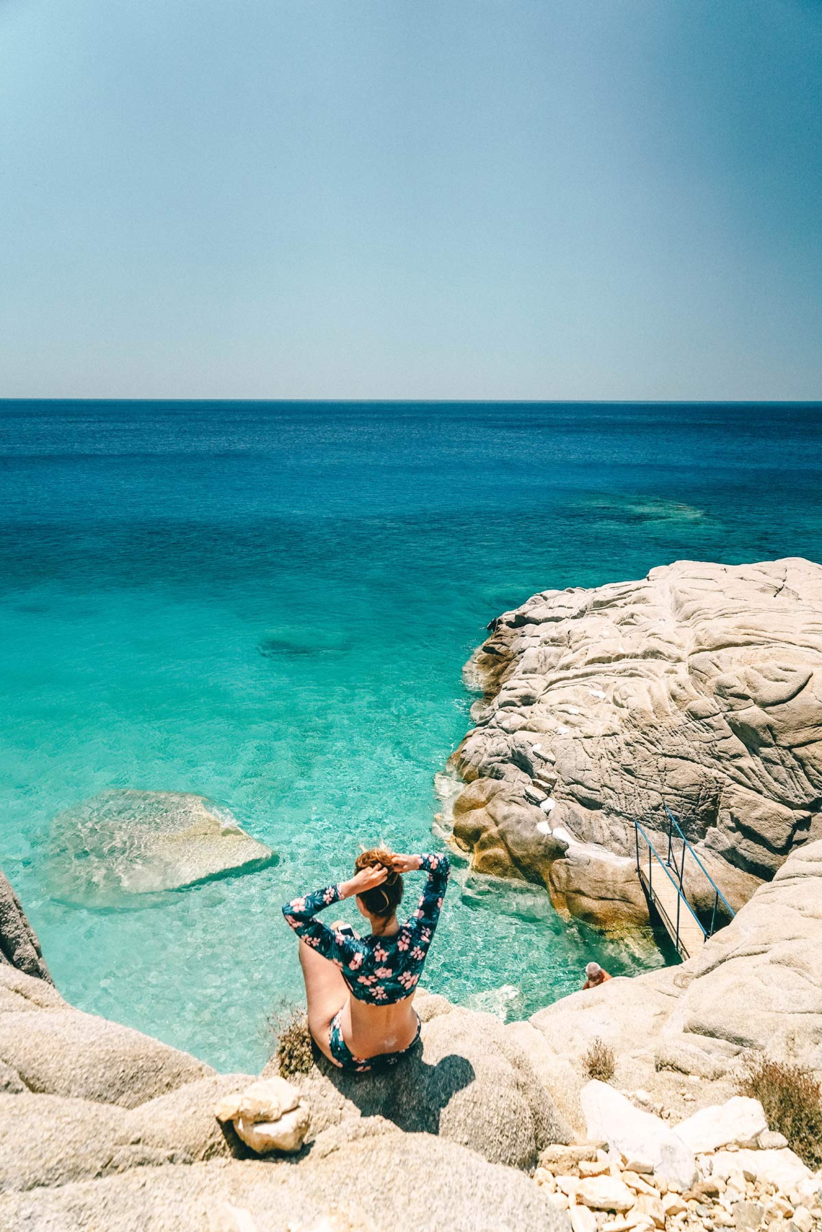 Christine Neder Seychellen Strand griechische Insel Ikaria