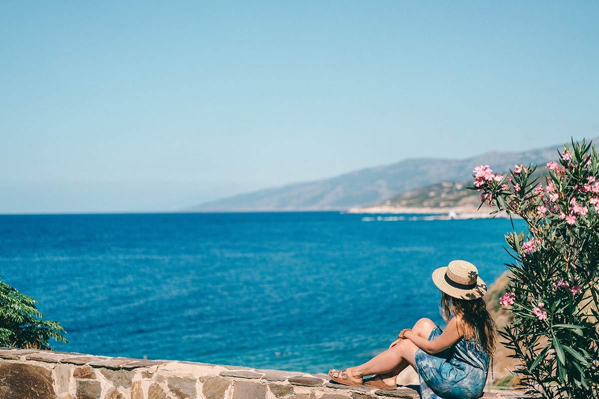 Christine Neder griechische Insel Ikaria