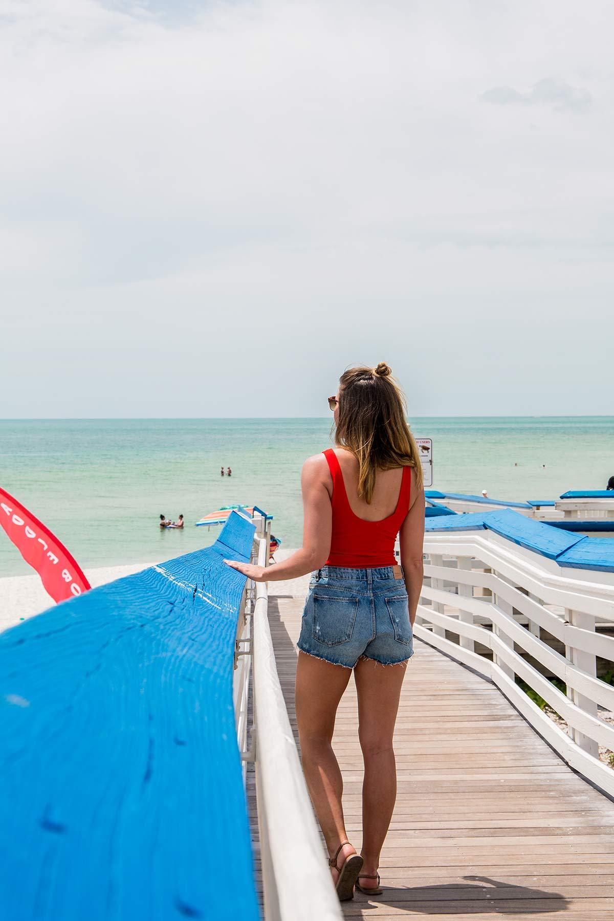 Clam Pass Park Beach Florida
