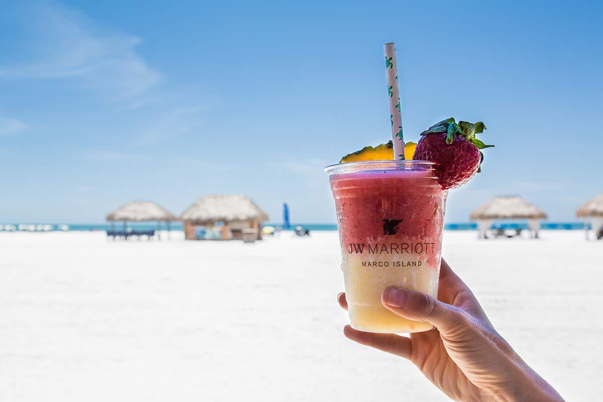 Cocktail im JW Marriott Marco Island