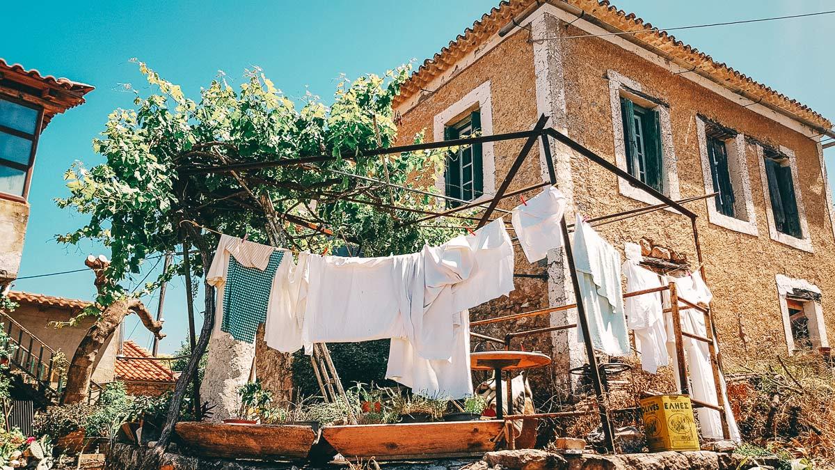 Griechische Gassen
