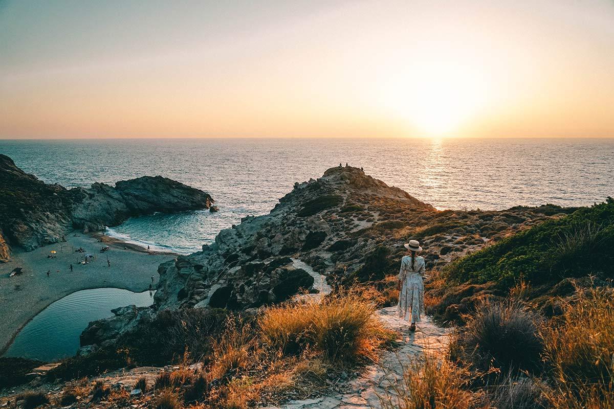 Ikaria Sonnenuntergang