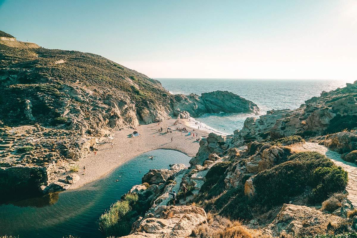 Ikaria Strand von Artemis