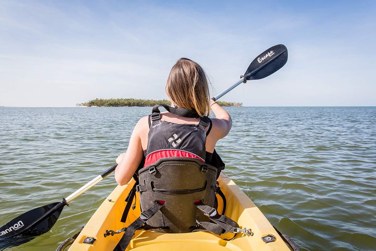 Kayakfahrt durch die Everglades Florida