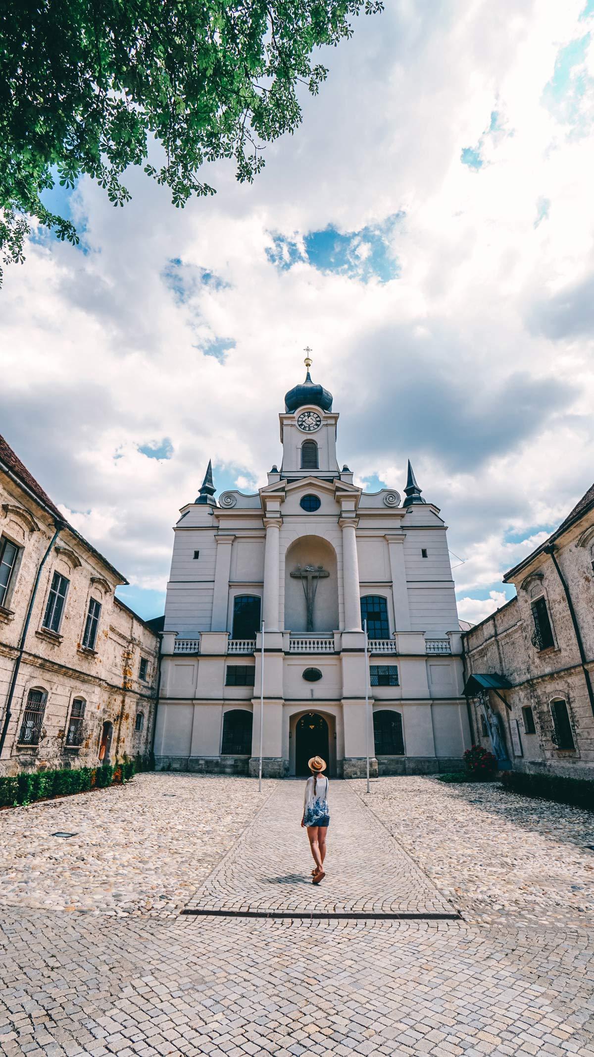 Kloster Raitenhaslach Kirche Aussen