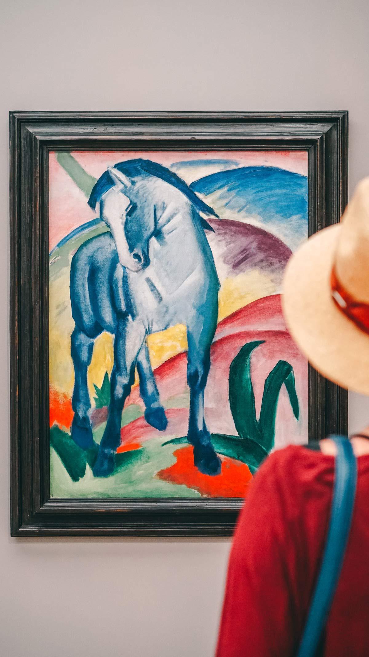 KunstKultur Lenbachhaus Das Blaue Pferd